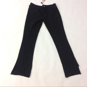 Michelle by Comune F12 Womens Pants Cropped Black